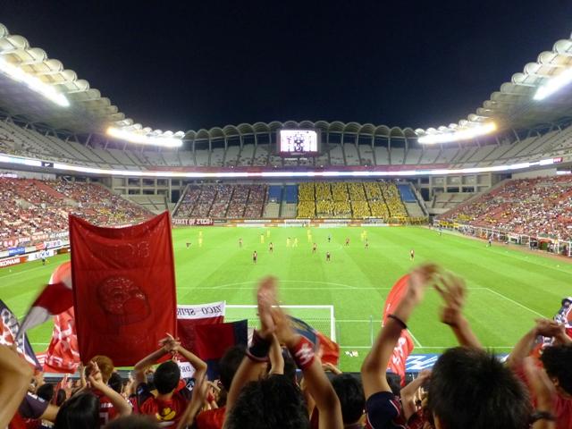 2013.8.31鹿島VS柏 キックオフ!!