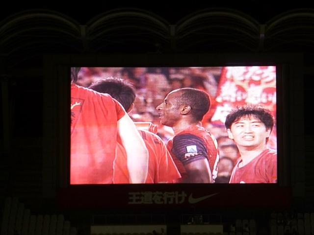 2013.8.31鹿島VS柏 試合後